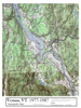 Set of 10 same size Historical Maps - Vernon VT Old Map