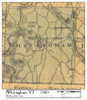 Set of 8 same size Historical Maps - Whitingham VT Old Map