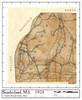 Set of 19 same size Historical Maps - Sunderland MA Old Map
