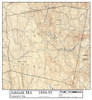 Ashfield 1894-95 - Old Town Map - overlay