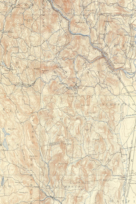 Conway 1894 - Old Town Map - USGS2