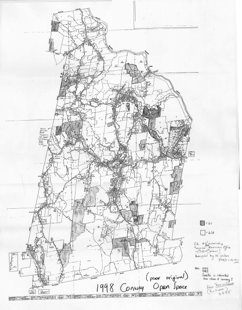 Conway 1998 - Old Town Map - Tax Map