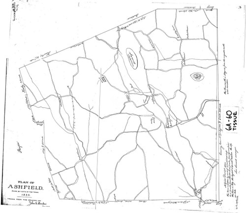 Ashfield 1830 - Old Town Map - FDA 6A-60