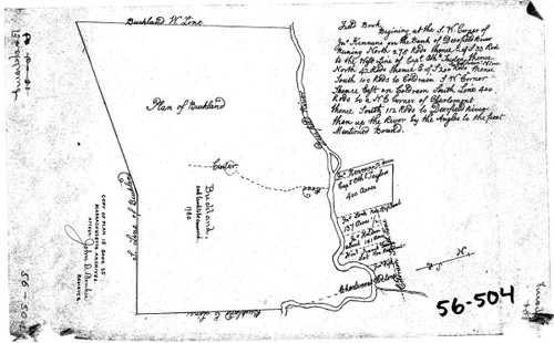 Buckland 1780 - Old Town Map Reprint