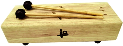 Four Keys Log Drum with Mallets