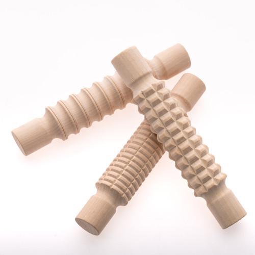Pattern Rolling Pin Set of 3