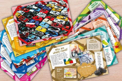 Puzzling and Pondering Activity Cards