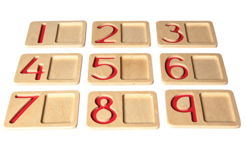 Early Mastery Number Trays