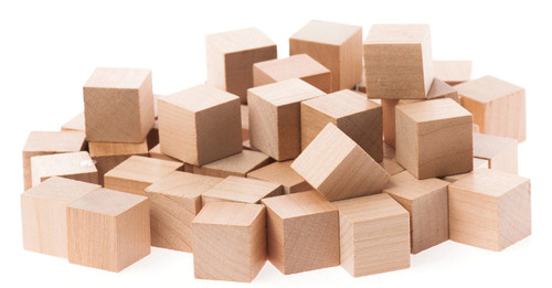 Wooden Cubes - Small