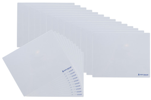 A4 Magnetic Whiteboard - Set of 25