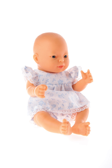 Little Tiny Doll Blue Play Suit