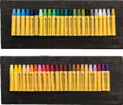 Coloured Oil Pastels - Large Pack