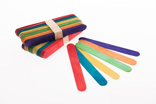 Giant Coloured Craft Sticks
