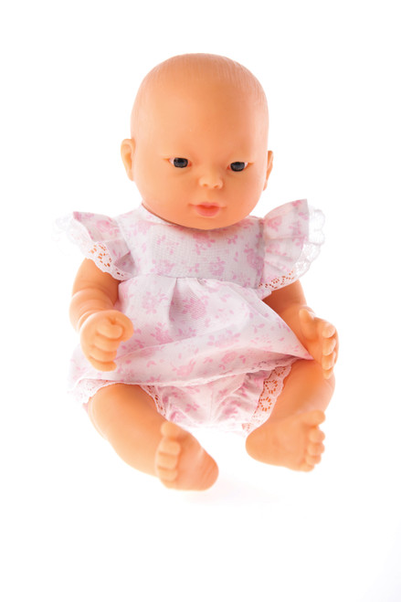 Little Tiny Doll Pink Play Suit