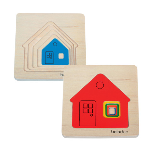 House Layer Puzzle