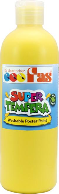 Super Tempera Yellow Paint 500ml
