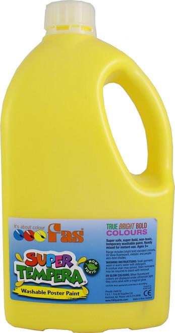 Super Tempera Yellow Paint 2L