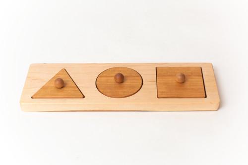 First Shape Peg Puzzle