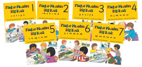 Jolly Finger Phonics Big Books