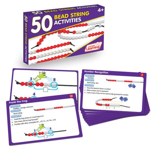 50 Bead String Activities