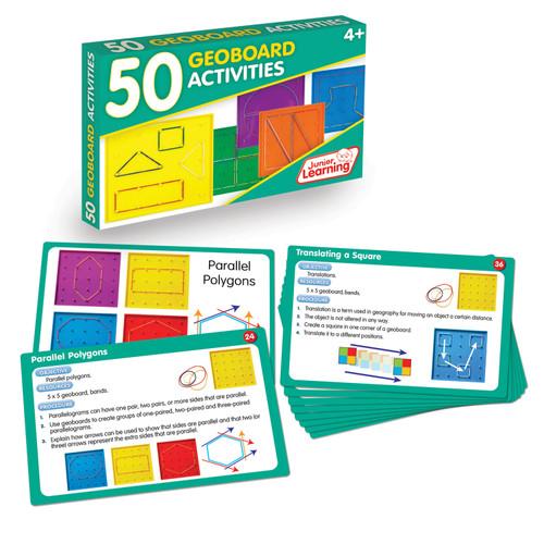 50 Geoboard Activities