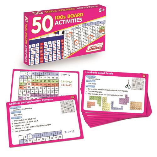 50 100s Board Activities