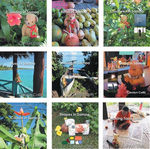Learning about Samoa Book Set - Samoan text