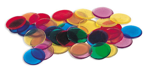 Transparent Counters - Set of 250