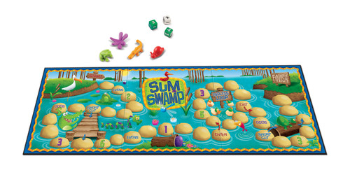 Sum Swamp Add and Subtract Game