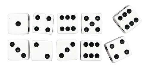 Dot Dice - Pack of 10