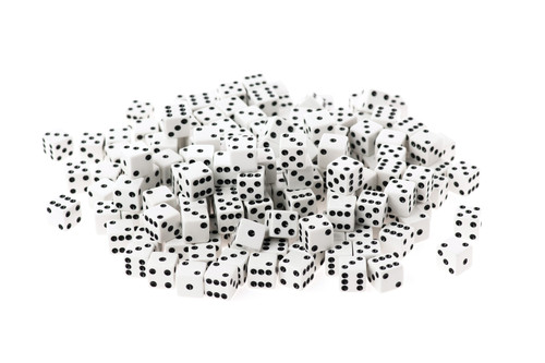 Dot Dice - Pack of 200