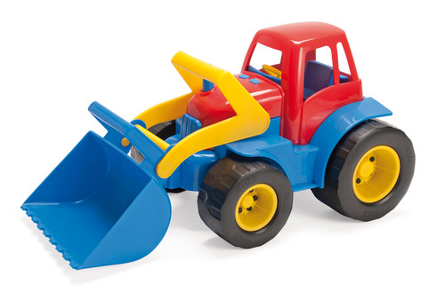 Tractor With Grab