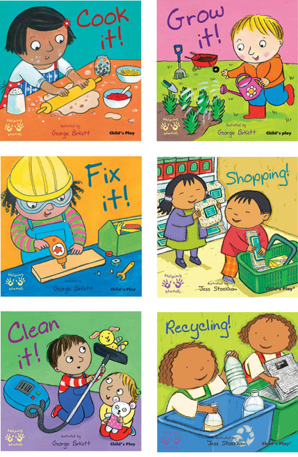 Helping Hands Board Books