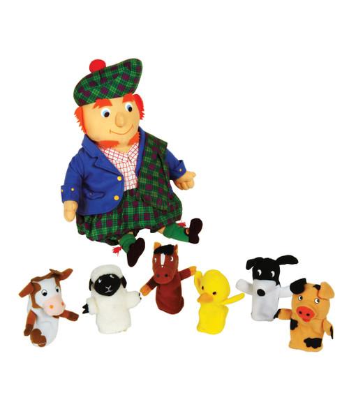 Old Macdonald Puppet Set