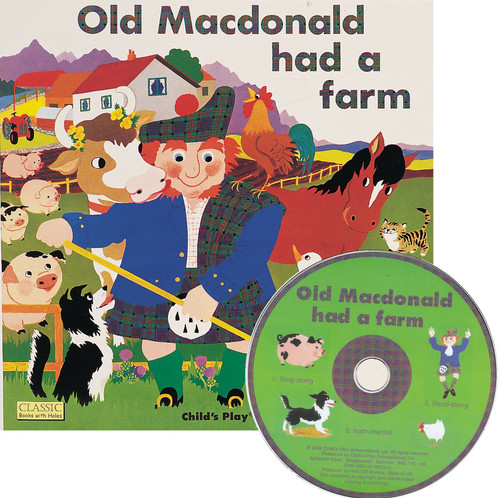 Old Macdonald Book & CD