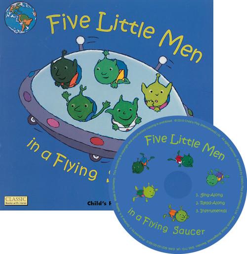 Five Little Men Book & CD