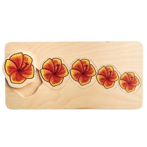 Hibiscus Flowers Puzzle