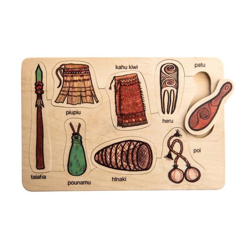 Maori Artefacts Puzzle