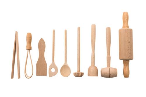 Beech Wood Cooking Set