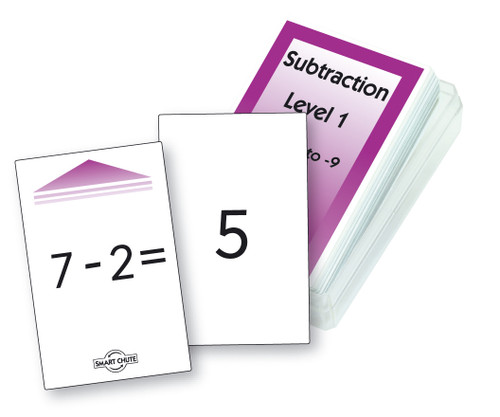 Subtraction - Level 1 Chute Cards