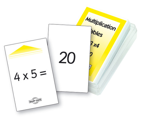 Multiplication Tables - Level 1 Chute Cards