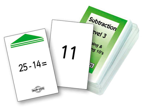 Subtraction - Level 3 Chute Cards