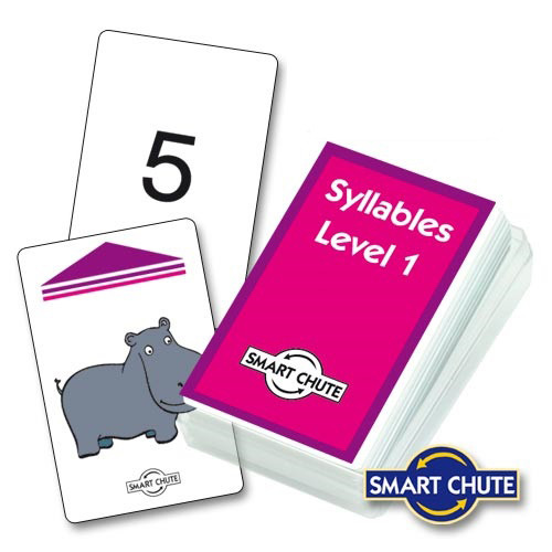 Syllables Level 1 Chute Cards