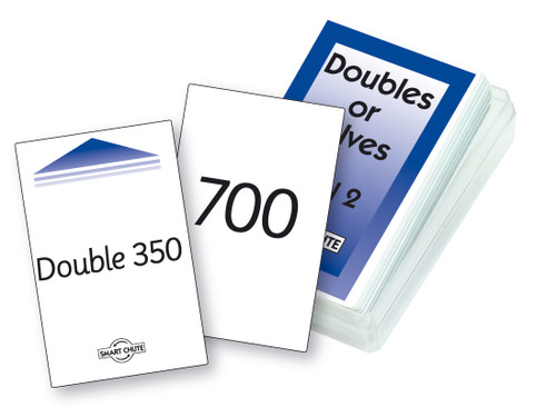 Double or Halves - Level 2 Chute Cards