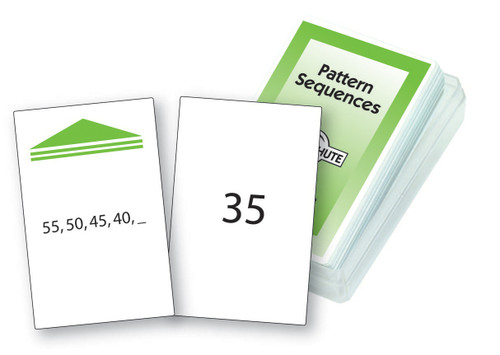 Pattern Sequences Chute Cards