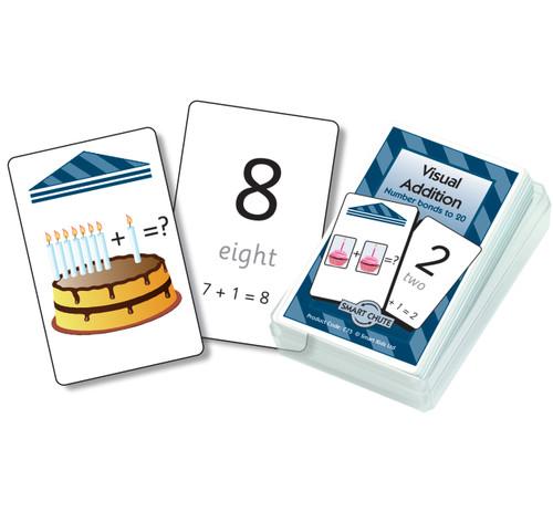 Visual Addition Chute Cards