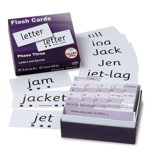 Letters and Sounds Flash Cards - Phase 3
