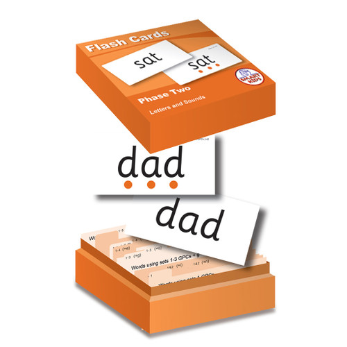 Letters and Sounds Flash Cards - Phase 2