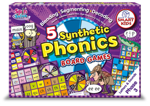 Synthetic Phonics Board Games - Phase 3