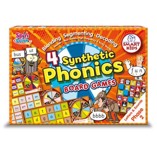 Synthetic Phonics Board Games - Phase 2